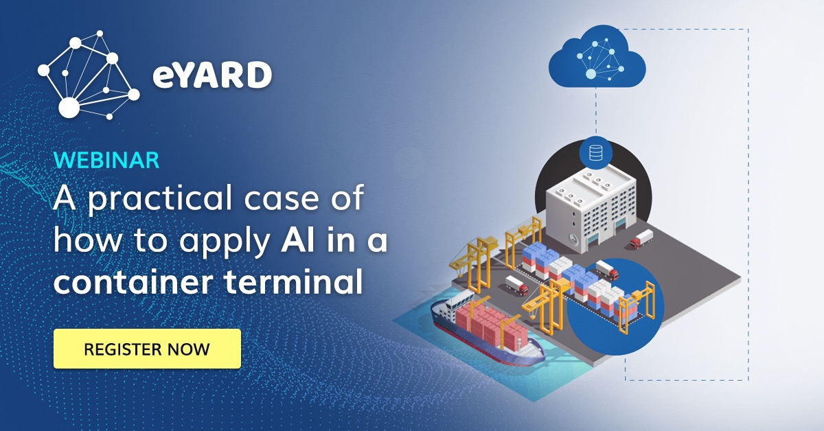 A practical case of how to apply A.I. in a container terminal